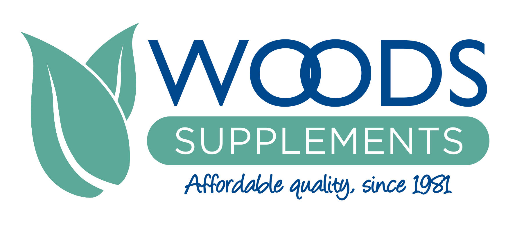 Woods supplements logo small